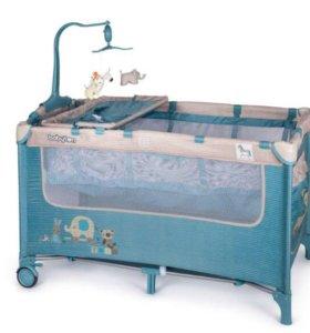 Кровать-манеж Babyton