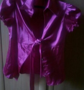 Блузка, жакет, рубашка замшевая, олимпийка.