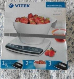 Весы кухонные новые