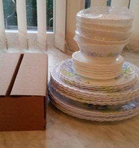 Сервиз столовой посуды