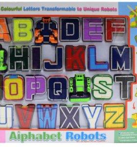 Набор Игрушек Трансформеров Трансботы Буквы