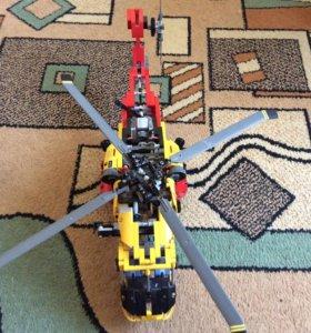 Лего техник. Вертолёт. 9396