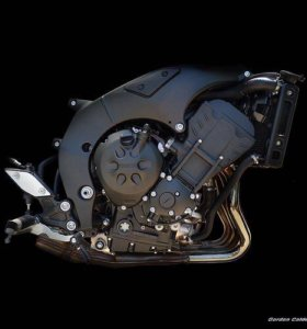 Запчасти двигатель yamaha fz1