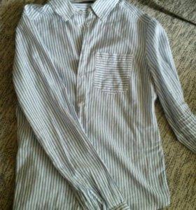 Рубашка terranova в полоску