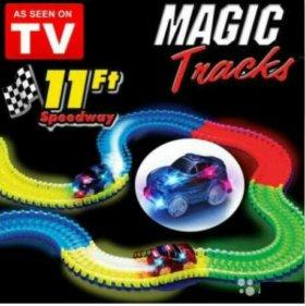 Волшебный трек/трасса конструктор Magic Tracks 220