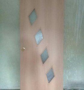 Межкомнатная дверь меланский орех