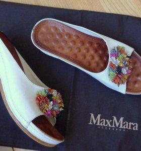 Marsella кожаные туфли шлепки