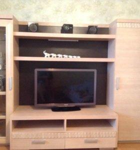 стенка для телевизора в гостинную
