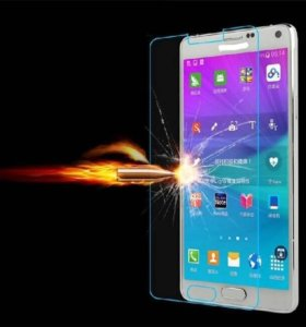 Закалённое стекло на Samsung galaxy s6
