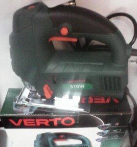 Новый лобзик VERTO 570W