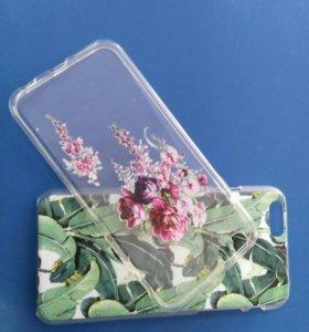 Бампера для iphone 6, силиконовый и пламассовый.