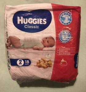 Памперсы детские Huggies