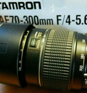 Tamron AF 70-300mm F/4-5.6 Di LD macro для Canon