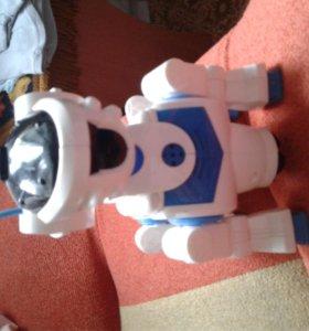 Продам игрушку Собака робот Текста