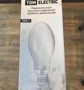 Лампа ртутная 500вт