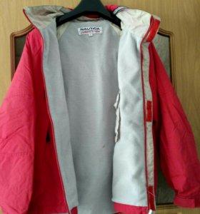 Куртка на флисе.