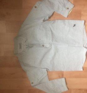 Рубашка новая р. 110-116