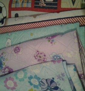 Тонкое одеяло.