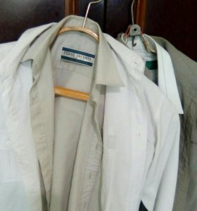 Комплект рубашек жля школьников 4 штуки росто 140