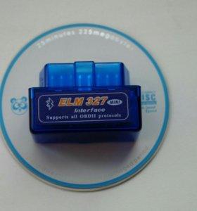 Автосканер для диагностики ELM327 OBD2 V-1.5