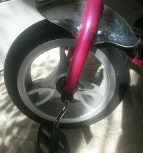 Детский велосипед каляска
