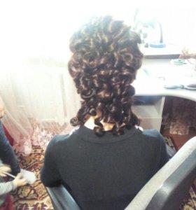 Прически,плетение кос.