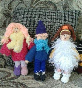 Маленькие куклы ручной работы