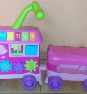 Детский музыкальный паровозик