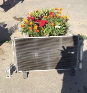 Радиатор кондиционера на Мазда СХ5 2015 года