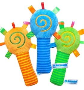 Мягкая игрушка-погремушка Маракас