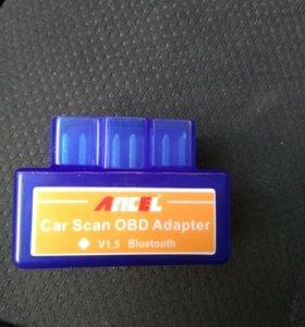 Адаптер сканер Elm 327 bt wifi usb v1.5 25k80