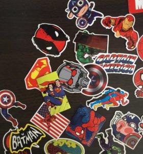 Стикеры Marvel