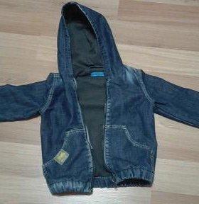 Джинсовая куртка (утепленная)