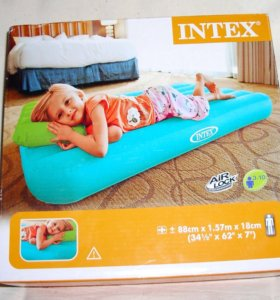 Матрас надувной детский с подушкой
