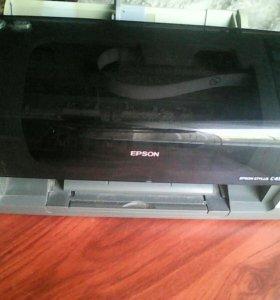 Цветной принтер Epson stylus c45.