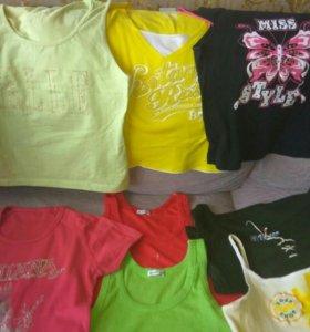 Женские футболки и топики от 48-52