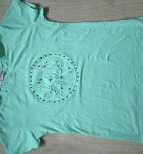 Новая футболка с камешками