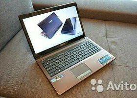 Игровой ноутбук Asus k53sr- Core i5