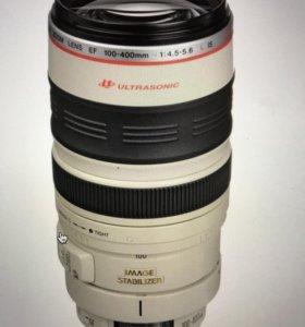 Объектив Canon EF 100-400 mm f/4.5-5.6L IS USM