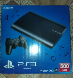 Sony PlayStation 3 500гб + игры