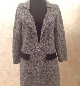 Кардиган, вязаное пальто