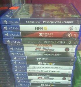Диски на PS4 по 1000р