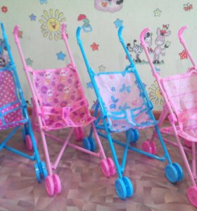 Новые коляски для кукол