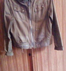 Джинсовая куртка (L)