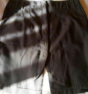Юбка, джинсы, болеро, футболка