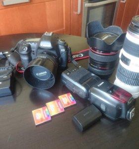 Canon 5d mark II +