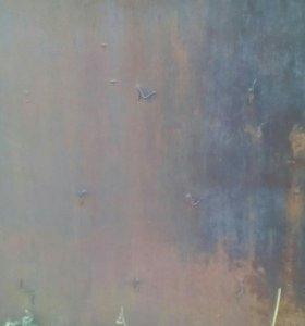 Металл листовой б/у