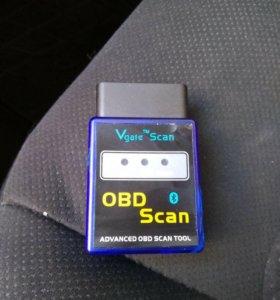 Адаптер сканер Elm 327 bt Скантул v1.5 25k80