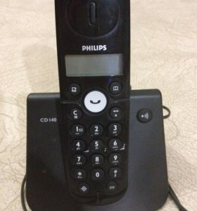 Стационарный телефон трубкой