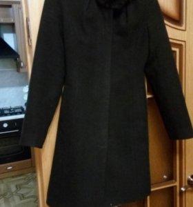 Пальто драпавое зимнее